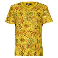 Abbigliamento Donna T-shirt maniche corte Desigual LYON Giallo