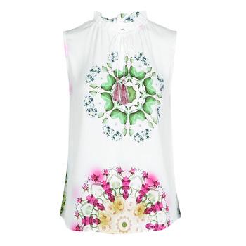 Abbigliamento Donna Top / T-shirt senza maniche Desigual ROSEN Bianco