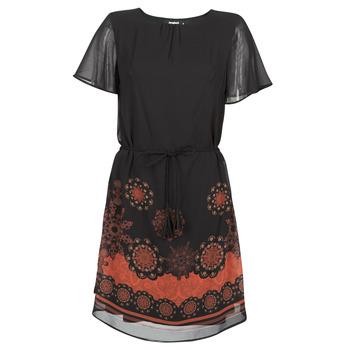 Abbigliamento Donna Abiti corti Desigual TAMPA Nero