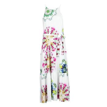 Abbigliamento Donna Abiti lunghi Desigual SENA Bianco