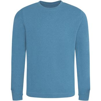 Abbigliamento Uomo Felpe Ecologie EA030 Azzurro