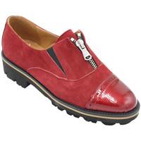 Scarpe Donna Mocassini Angela Calzature ANSANGC097rs rosso