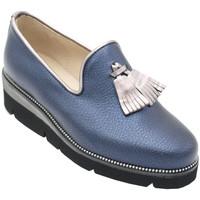 Scarpe Donna Mocassini Angela Calzature ANSANG120Ablu blu