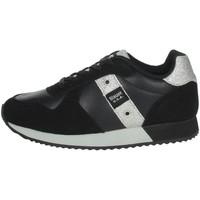 Scarpe Bambina Sneakers basse Blauer LILLI02 NERO
