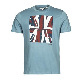 Abbigliamento Uomo T-shirt maniche corte Ben Sherman HALF TONE FLEG TEE Blu