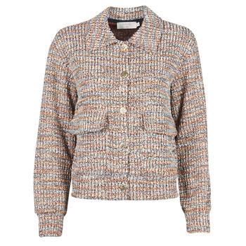 Abbigliamento Donna Giacche / Blazer Cream CHANA JACKET Multicolore