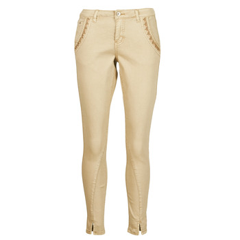 Abbigliamento Donna Pantaloni 5 tasche Cream HOLLY TWILL PANT Beige