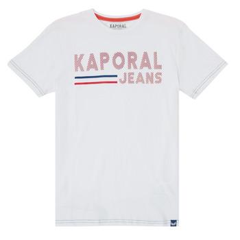 Abbigliamento Bambino T-shirt maniche corte Kaporal EZIO Bianco