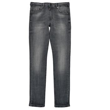 Abbigliamento Bambino Jeans slim Kaporal JEGO Grigio