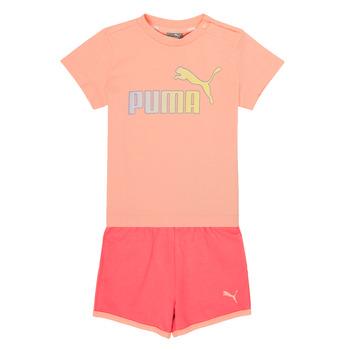 Abbigliamento Bambina Completo Puma BB SET ABRI Rosa