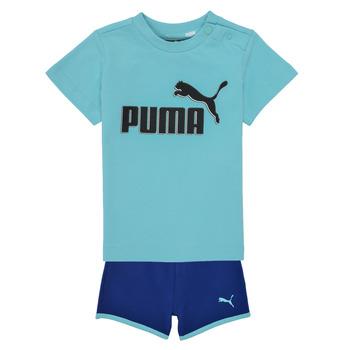 Abbigliamento Bambino Completo Puma BB SET ANGEL Blu