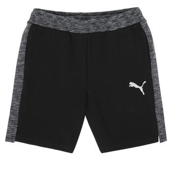 Abbigliamento Bambino Shorts / Bermuda Puma EVOSTRIPE SHORTS Nero