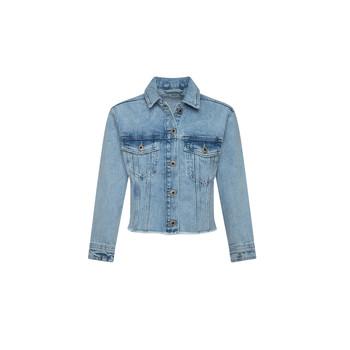 Abbigliamento Bambina Giacche in jeans Pepe jeans NICOLE JACKET Blu