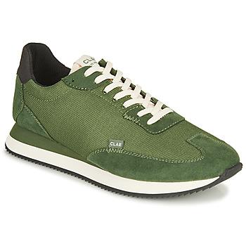 Scarpe Uomo Sneakers basse Clae RUNYON Verde
