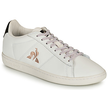 Scarpe Donna Sneakers basse Le Coq Sportif COURTSET Bianco / Nero