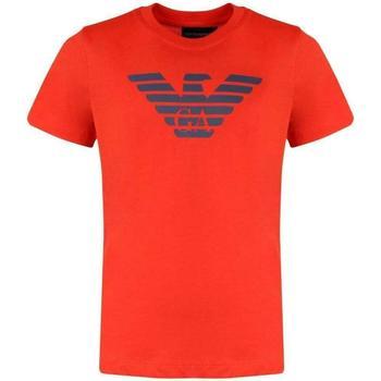 Abbigliamento Bambino T-shirt maniche corte Emporio Armani ARMANI CORALLO 8N4T99-1JNQZ Arancione