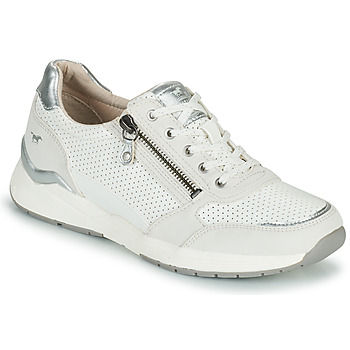 Scarpe Donna Sneakers basse Mustang ANINTA Bianco / Argento
