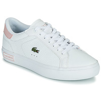 Scarpe Donna Sneakers basse Lacoste POWERCOURT 0721 2 SFA Bianco / Rosa