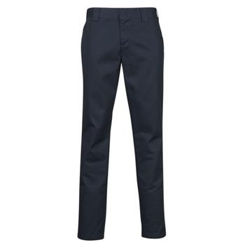 Abbigliamento Uomo Pantaloni 5 tasche Dickies SLIM FIT WORK PNT Marine