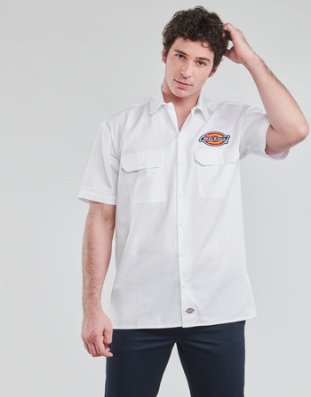 Dickies CLINTONDALE S/S WORK SHIRT WHITE