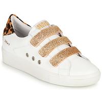 Scarpe Donna Sneakers basse Semerdjian GARBIS Bianco / Oro