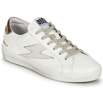 Scarpe Donna Sneakers basse Semerdjian CATRI Bianco / Oro