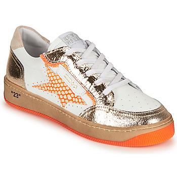 Scarpe Donna Sneakers basse Semerdjian ARTO Bianco / Arancio