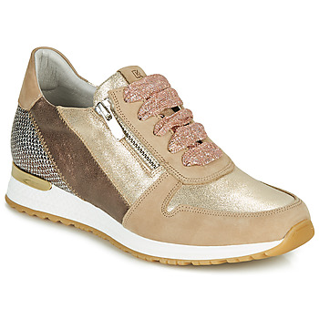 Scarpe Donna Sneakers basse Dorking VIOLA Oro