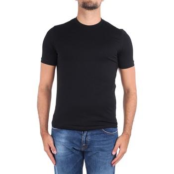 Abbigliamento Uomo T-shirt maniche corte Cruciani CUJOSB G30 Nero