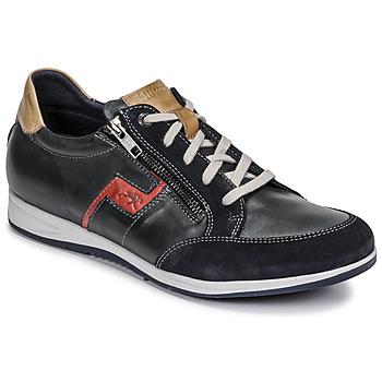 Scarpe Uomo Sneakers basse Fluchos 0207-AFELPADO-MARINO Marine