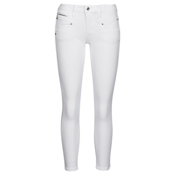 Abbigliamento Donna Pantaloni 5 tasche Freeman T.Porter ALEXA CROPPED S-SDM Bianco