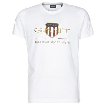 Abbigliamento Uomo T-shirt maniche corte Gant ARCHIVE SHIELD Bianco