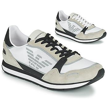Scarpe Uomo Sneakers basse Emporio Armani EMPAGNO Bianco