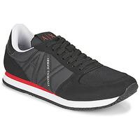 Scarpe Uomo Sneakers basse Armani Exchange ESPACIA Nero / Rosso