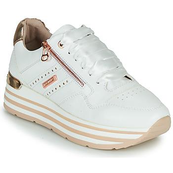 Scarpe Donna Sneakers basse Dockers by Gerli 44CA207-592 Bianco