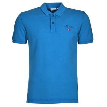 Abbigliamento Uomo Polo maniche corte Napapijri ELBAS 4 Blu
