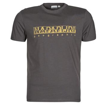 Abbigliamento Uomo T-shirt maniche corte Napapijri SALLAR SS Grigio