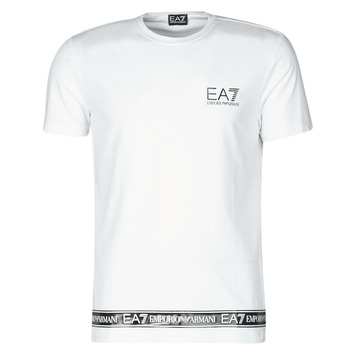 Abbigliamento Uomo T-shirt maniche corte Emporio Armani EA7 3KPT05-PJ03Z-1100 Bianco