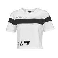 Abbigliamento Donna T-shirt maniche corte Emporio Armani EA7 3KTT05-TJ9ZZ-1100 Bianco / Nero