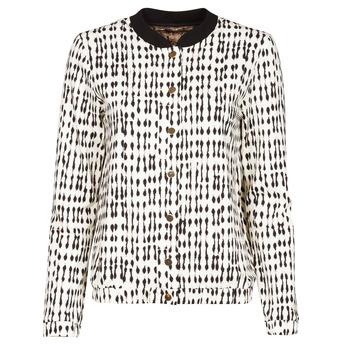 Abbigliamento Donna Giacche / Blazer One Step MADANY Ecru / Nero