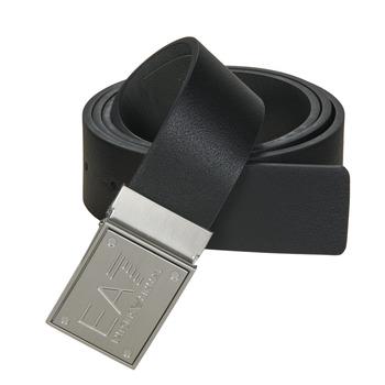 Accessori Cinture Emporio Armani EA7 TRAIN CORE ID U BELT Nero / Grigio
