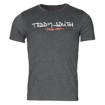 Abbigliamento Uomo T-shirt maniche corte Teddy Smith TICLASS Grigio / Scuro