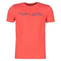 Abbigliamento Uomo T-shirt maniche corte Teddy Smith TICLASS Rosso