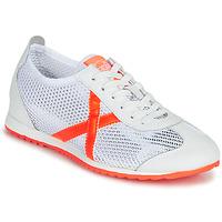 Scarpe Donna Sneakers basse Munich OSAKA 456 Bianco / Arancio