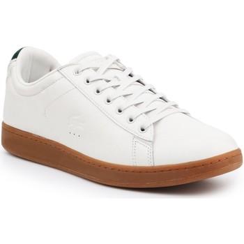 Scarpe Uomo Sneakers basse Lacoste Carnaby Evo 5 SRM 7-30SRM4002098 beige