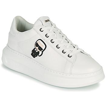 Scarpe Donna Sneakers basse Karl Lagerfeld KAPRI KARL IKONIC LO LACE Bianco