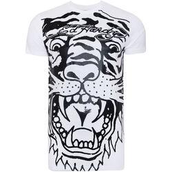 Abbigliamento Uomo T-shirt maniche corte Ed Hardy - Big-tiger t-shirt Bianco