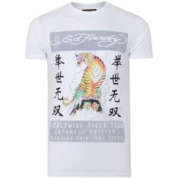 Abbigliamento Uomo T-shirt maniche corte Ed Hardy - Mt-tiger t-shirt Bianco