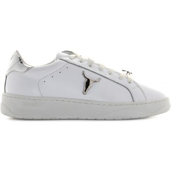 Scarpe Donna Sneakers basse Windsor Smith donna sneakers basse GALAXY-W  BIANCO-ARGENTO Pelle