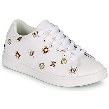 Scarpe Donna Sneakers basse Desigual COSMIC JULIETTE Bianco
